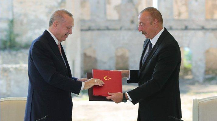 Erdoğan: Azerbaycan ile Libya'da ortaklık yapabiliriz