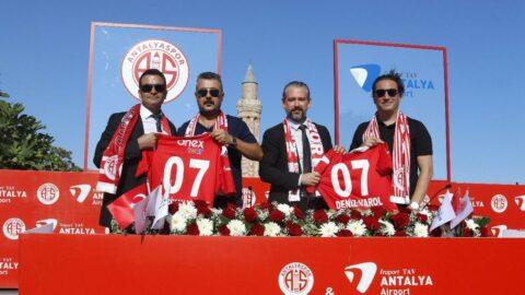 Antalyaspor, isim sponsoru ile sözleşmesini uzattı