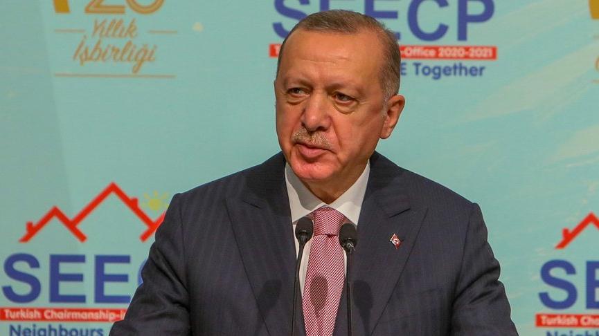 Cumhurbaşkanı Erdoğan'dan 'bölgedeki siyasi sorunlar için diyalog' mesajı