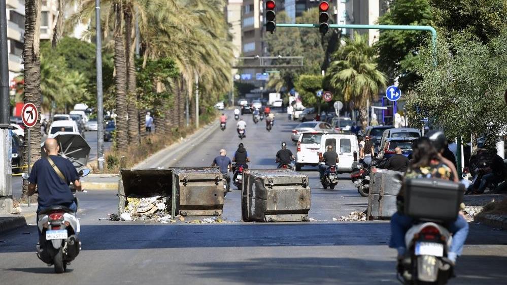 Ekonomik krizin vurduğu Lübnan'da greve gidildi