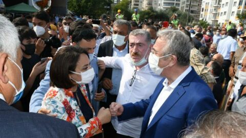 Mansur Yavaş, Adana'da kreş temeli atma törenine katıldı