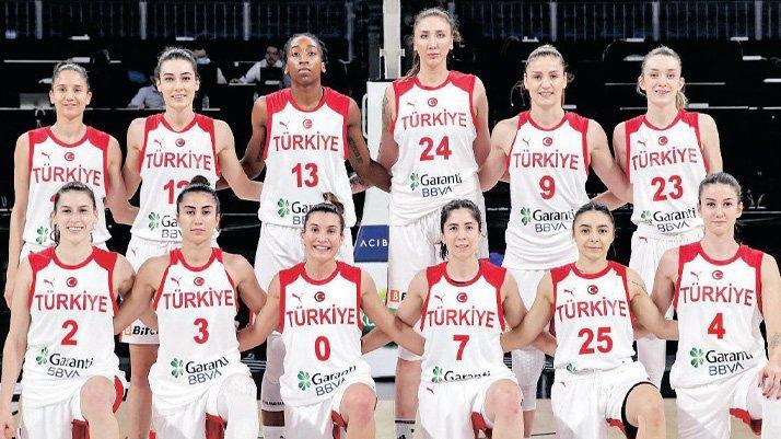 Avrupa Kadınlar Basketbol Şampiyonası'nda sahne Periler'in