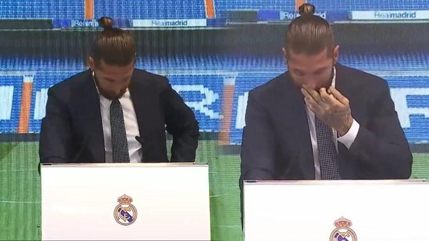 Sergio Ramos, Real Madrid'e gözyaşlarıyla veda etti: 'Bir gün geri geleceğim'