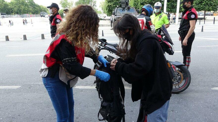 Polis, Taksim Meydanı'nda teyakkuza geçti
