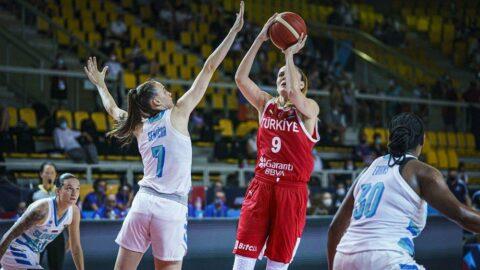 Türkiye Slovenya'ya farklı mağlup oldu   Kadınlar Avrupa Şampiyonası