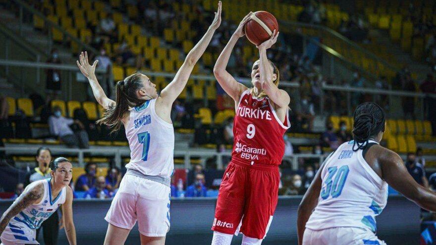 Türkiye Slovenya'ya farklı mağlup oldu | Kadınlar Avrupa Şampiyonası