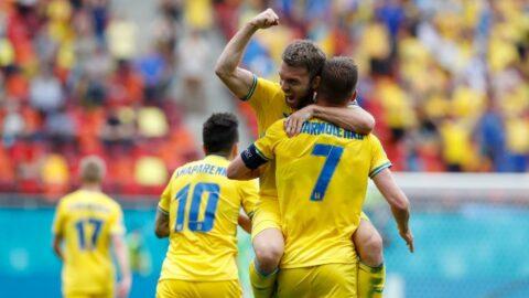 Ukrayna'dan kritik üç puan   EURO 2020 C Grubu