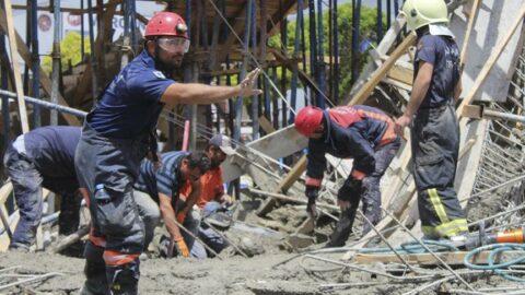 Ankara'da inşaatta göçük: 19 yaşındaki genç öldü, babası yaralı