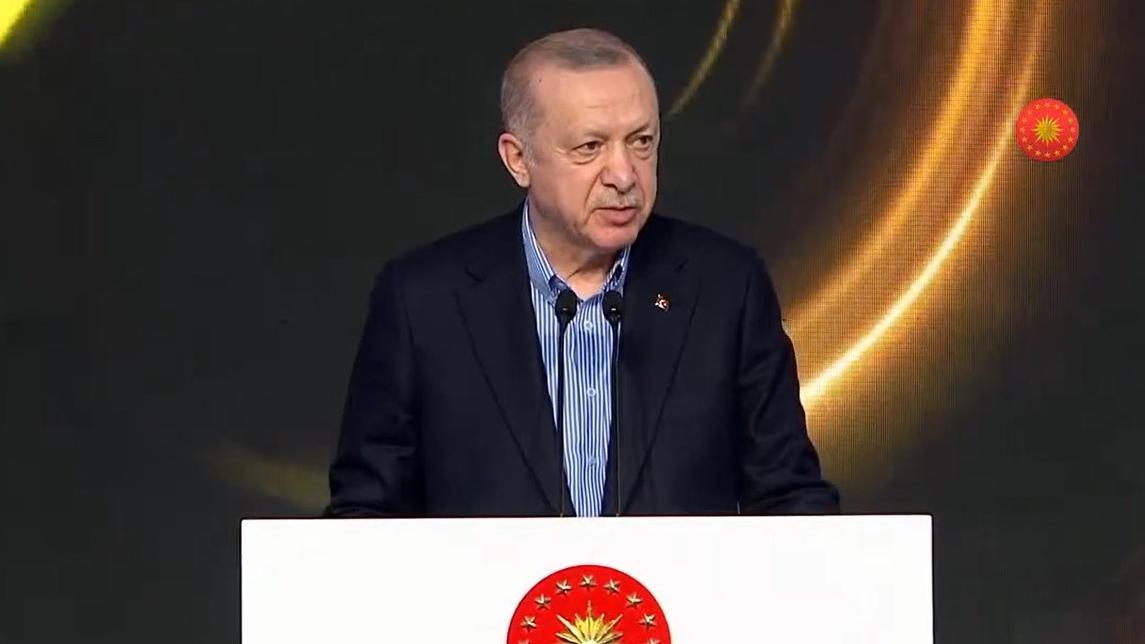 Cumhurbaşkanı Erdoğan'ın dili sürçtü