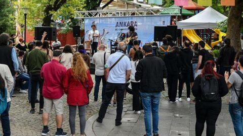 Başkentli müzisyenler sahnelerine kavuştu