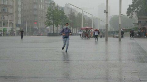 Valilikten yağış uyarısı! İstanbul için turuncu alarm
