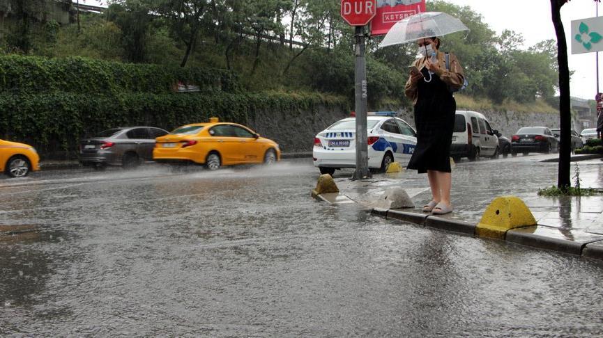 İstanbul için 'çok kuvvetli yağış' uyarısı