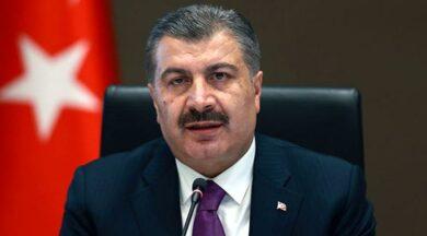 Sağlık Bakanı Koca'dan aşı paylaşımları