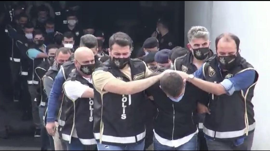 Nurişler operasyonunda 19 tutuklama