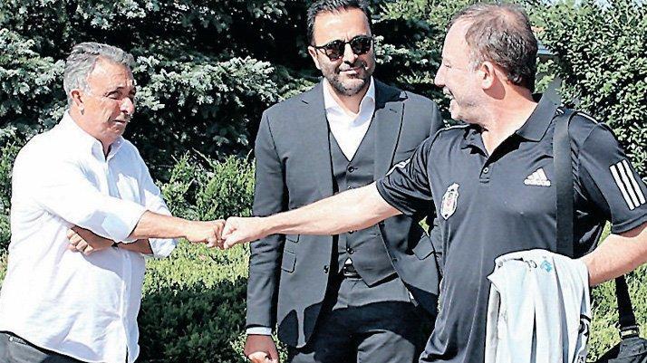Beşiktaş'ta tüm gözler Sergen Yalçın ile Başkan Çebi'nin yeni sözleşme zirvesinde