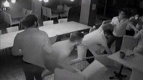 Didim Belediye Başkanı'na saldırı anının görüntüsü ortaya çıktı