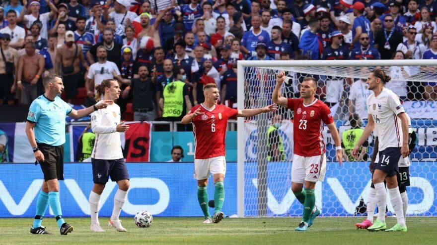 Fransa'ya Macaristan çelmesi! Grup karıştı… | EURO 2020 F Grubu