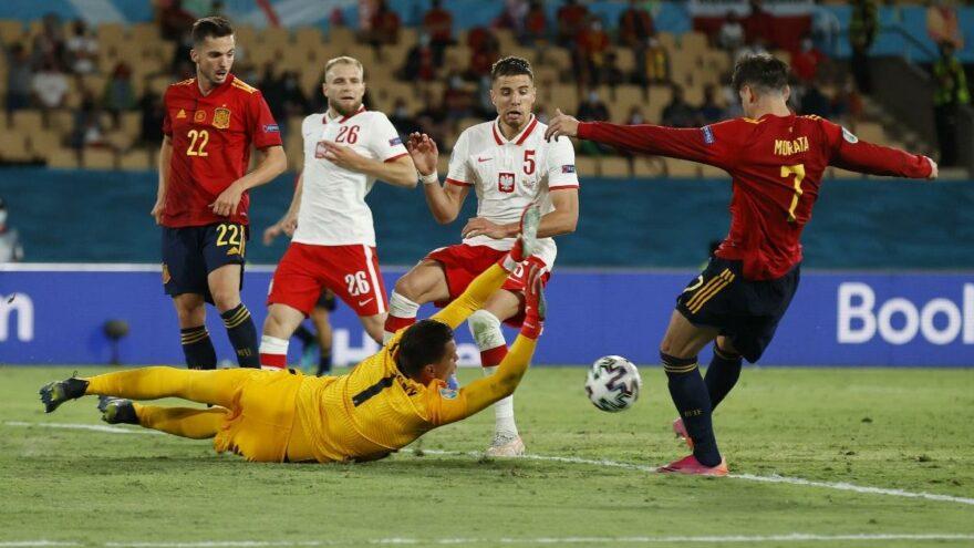 İspanya, Polonya engelini aşamadı, işi zora soktu: 1-1   EURO2020 E Grubu