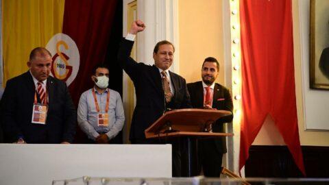 Galatasaray'ın yeni başkanı Burak Elmas oldu
