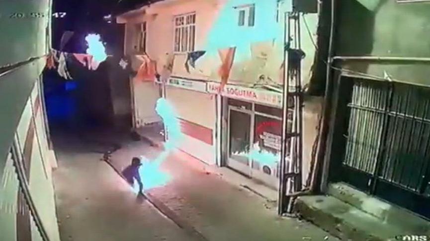 AKP binası saldırısı şüphelilerden biri parti yöneticisinin akrabası çıktı