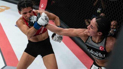 Sabriye Şengül, MMA'da kazanan ilk Türk kadın oldu