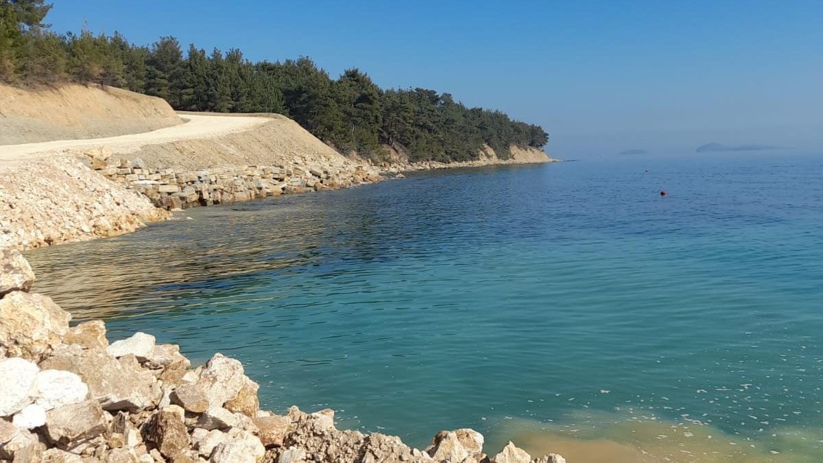 Saros kıyıları işletmeye açılıyor
