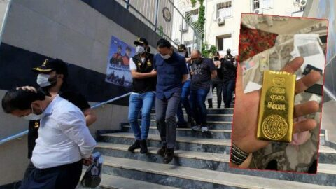 İstanbul'da iş insanına dehşeti yaşattılar: 4 külçe altını çaldılar