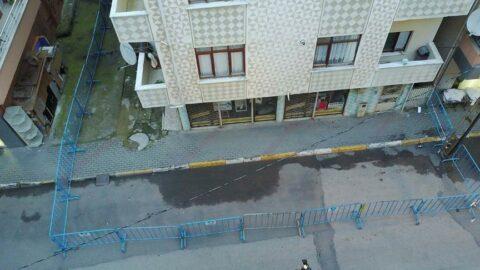 Deprem sonrası Pendik'te bir apartman boşaltıldı