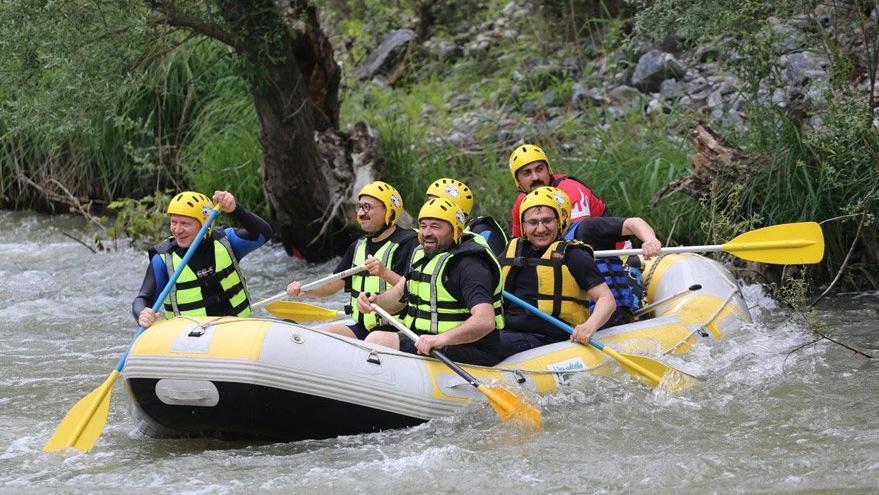 Bursa'da rafting