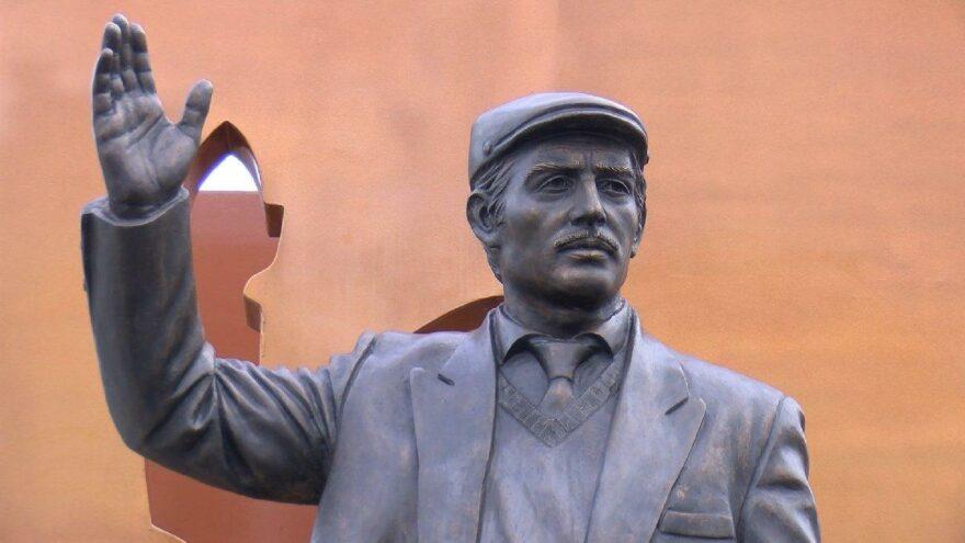 """""""Umuda Yolculuk Anıtı"""" açıldı"""