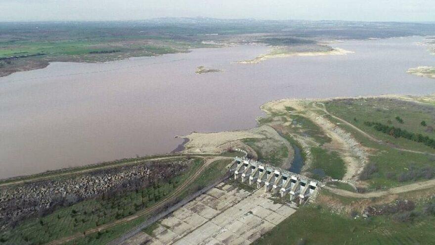 Trakya'daki barajların doluluk oranı yüzde 90'a ulaştı