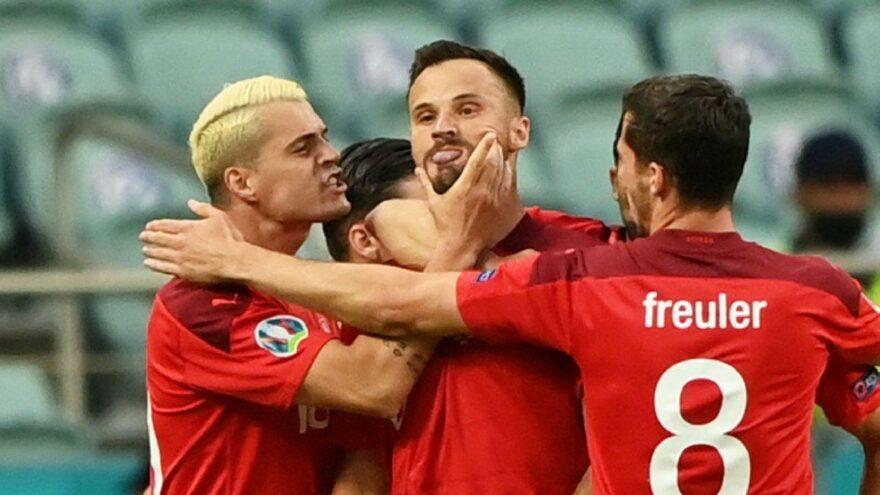 Haris Seferovic'in A Milli Takım'a attığı gol tarihe geçti! En erken…