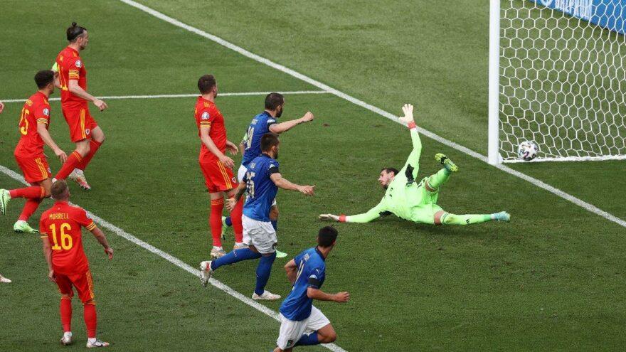 İtalya Galler Maçı Tahminlere Açık Bir Maçtı.