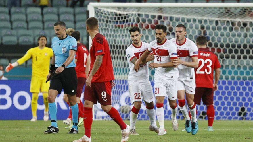 A Milli Takım'ın EURO 2020'deki ilk ve tek golünü İrfan Can Kahveci attı