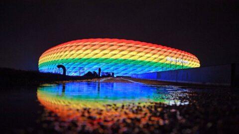 Almanya'dan Macaristan'a EURO 2020'de LGBT protestosu