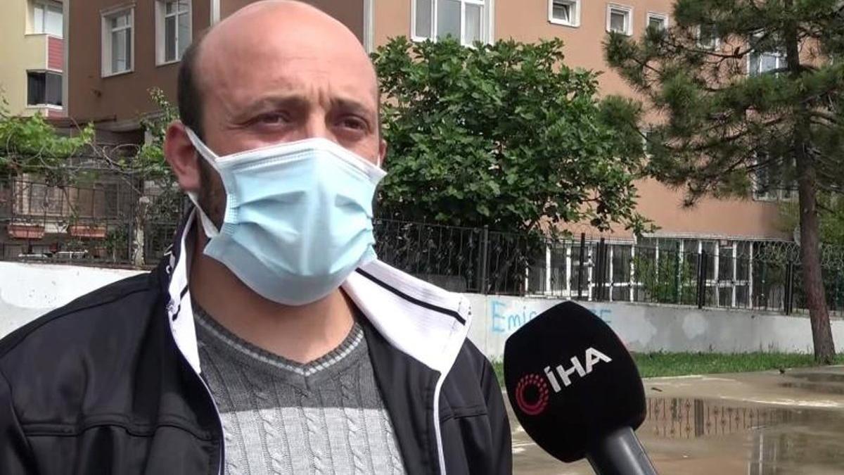 Kimliğini kaybeden temizlik işçisi zor günler yaşadı