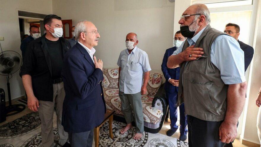 Kemal Kılıçdaroğlu'ndan taziye ziyareti