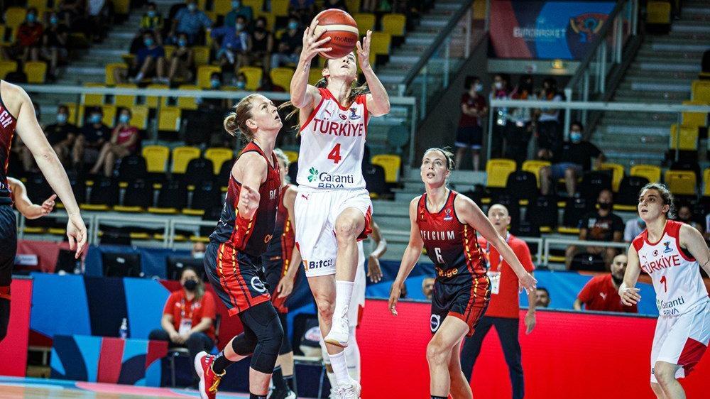 Türkiye A Milli Kadın Basketbol Takımı'ndan erken veda