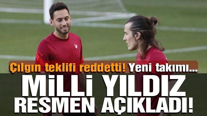 Hakan Çalhanoğlu Inter ile anlaştığını açıkladı