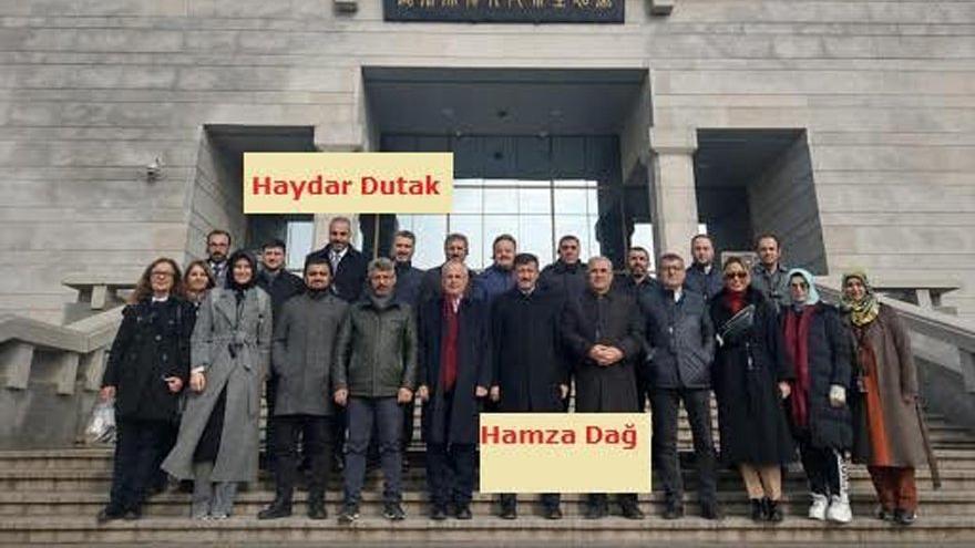 Daire başkanı rapor alıp AKP'li vekille Çin'i gezmiş
