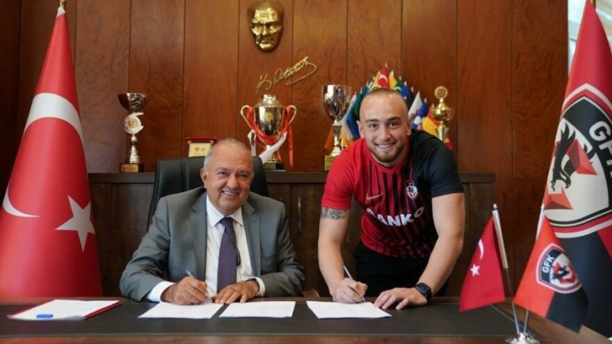 Doğan Erdoğan, Gaziantep FK'ya imza attı