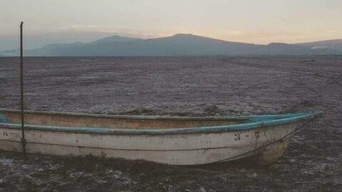 Ülkenin en büyük ikinci gölü Cuitzeo tamamen kurudu