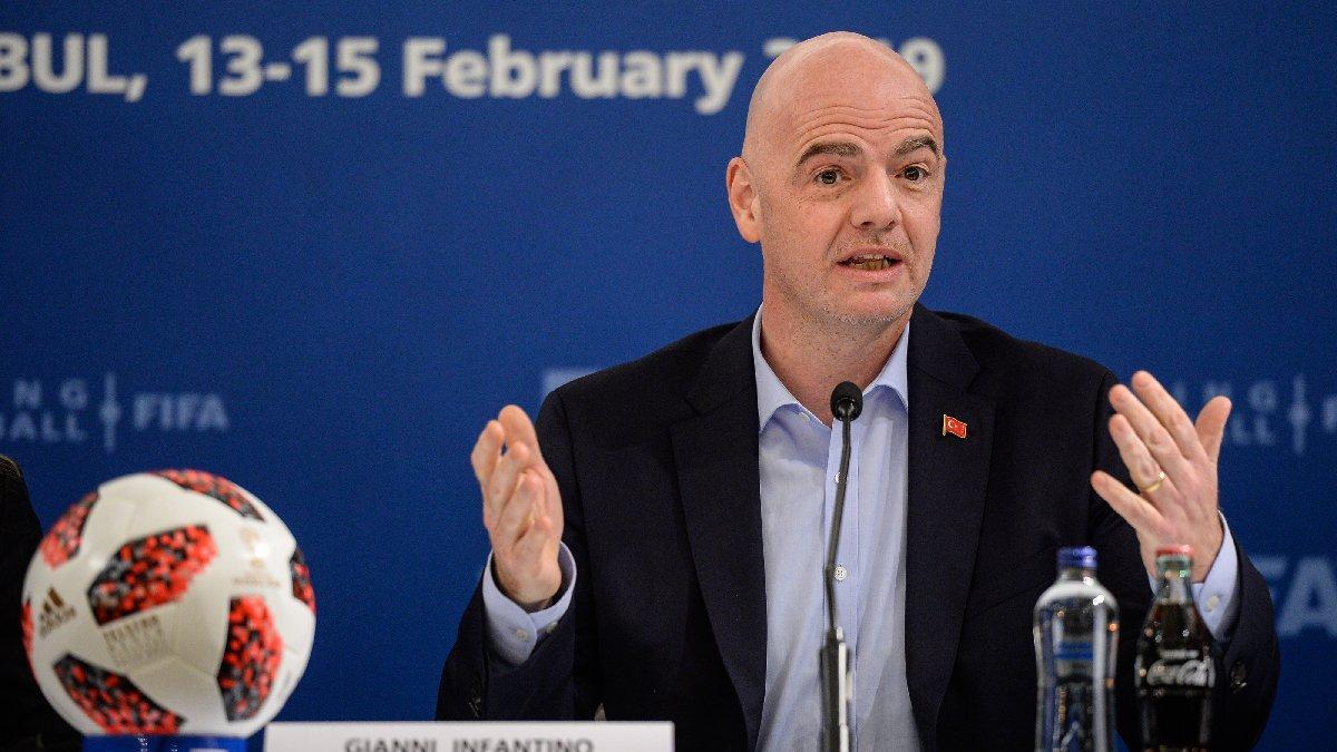 FIFA Başkanı Infantino: Türkiye harika bir futbol ülkesi