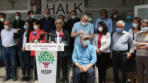 HDP'den iddianamenin kabulü kararına ilk tepki