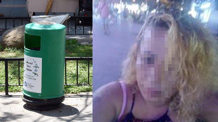 Caddede düşük yaptı, ölü cenini poşetle çöpe attı