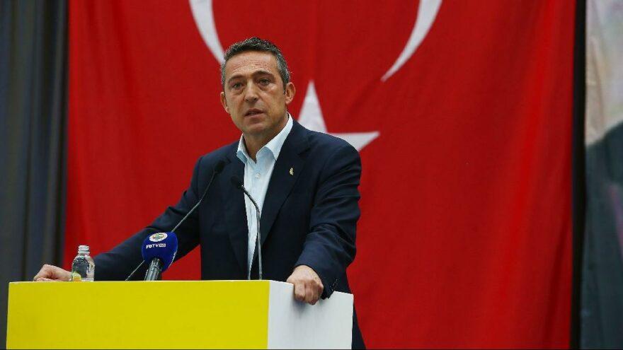 Fenerbahçe Başkanı Ali Koç'tan açıklamalar! TFF, seçim, Aziz Yıldırım, Galatasaray, 3 Temmuz, teknik direktör…