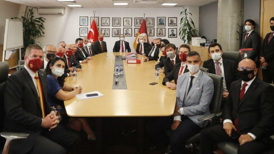 Galatasaray'da devir teslim töreni gerçekleştirildi