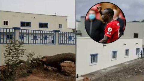 Senegal'in iyi meleği Sadio Mane! Şimdi de hastane yaptırdı...