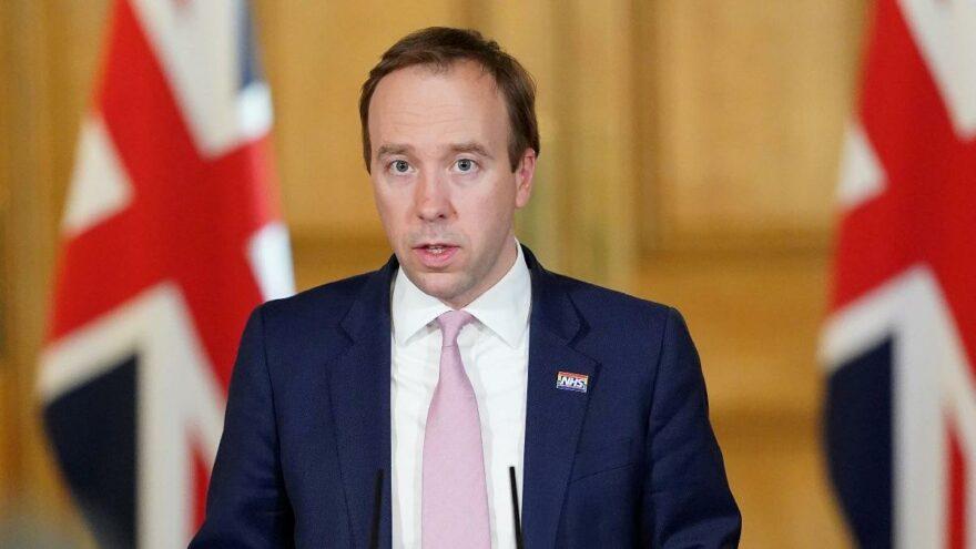 Sağlık Bakanı Hancock açıkladı: Aşı olan İngilizler için tatil planı üzerinde çalışıyoruz