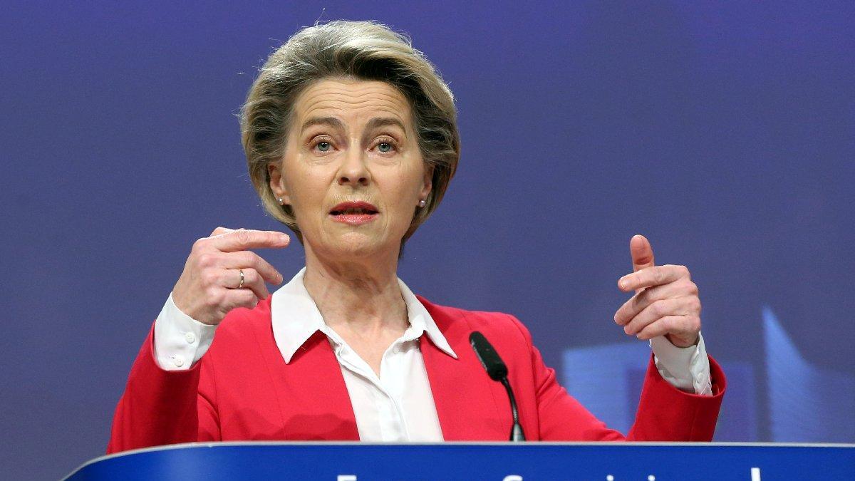 AB Komisyonu Başkanı Ursula Von Der Leyen: Türkiye'yi desteklemeye devam etmemiz önemli